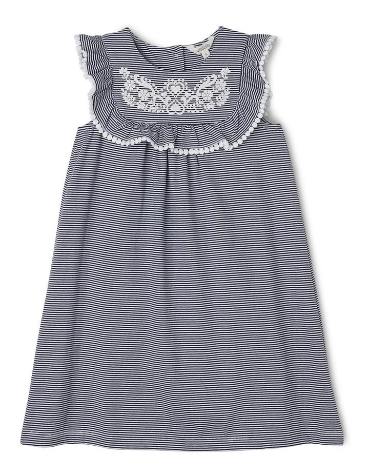 Stripe Dress - Navy image 1