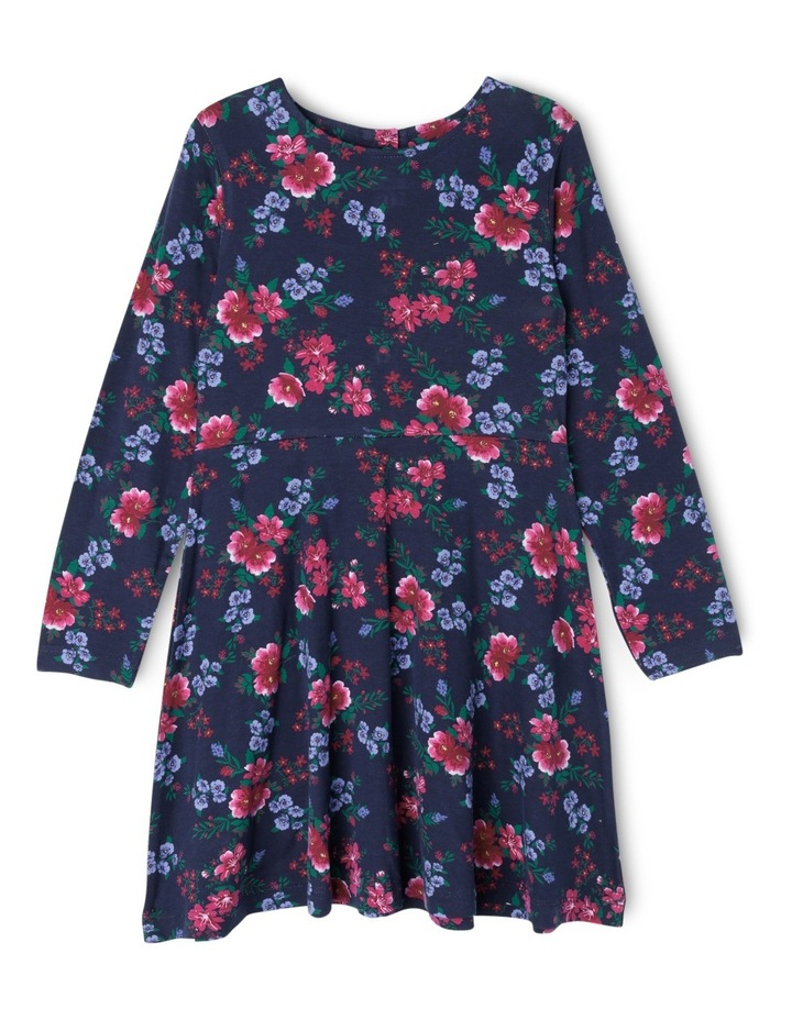 Long Sleeve Skater Dress image 1