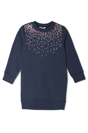 Milkshake - Long Sleeve Sweater Dress