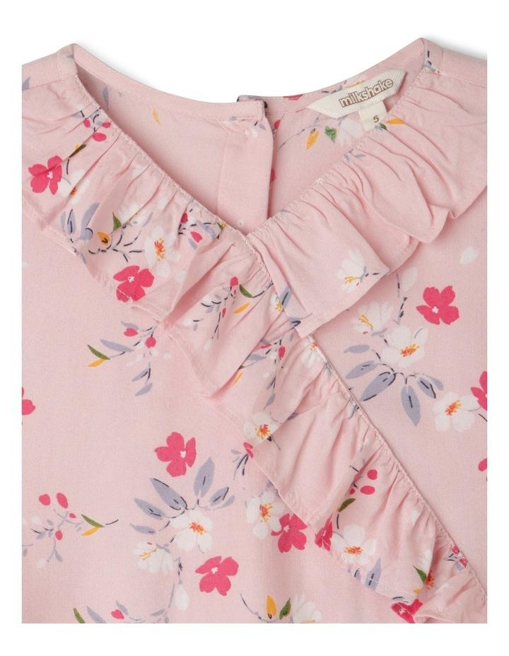 Woven Short Sleeve Wrap Dress image 2