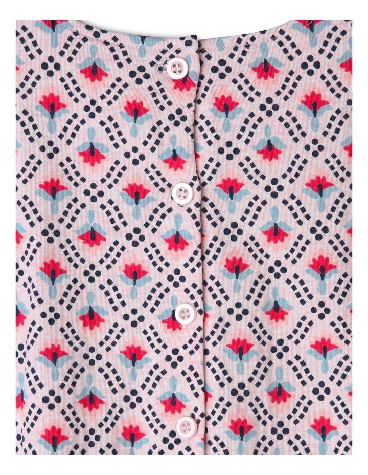 Long Sleeve Knit Skater Dress image 3