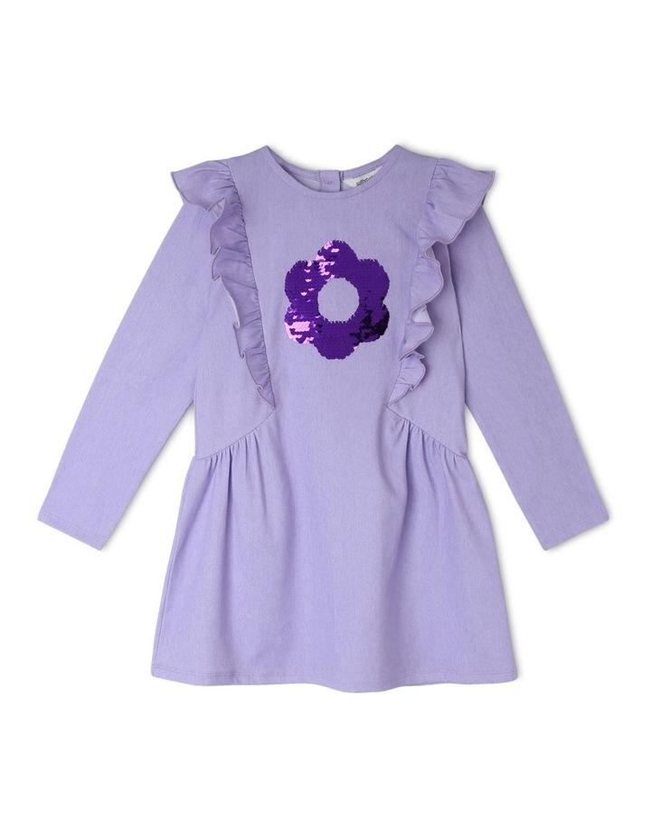 Long Sleeve Knit Dress image 1