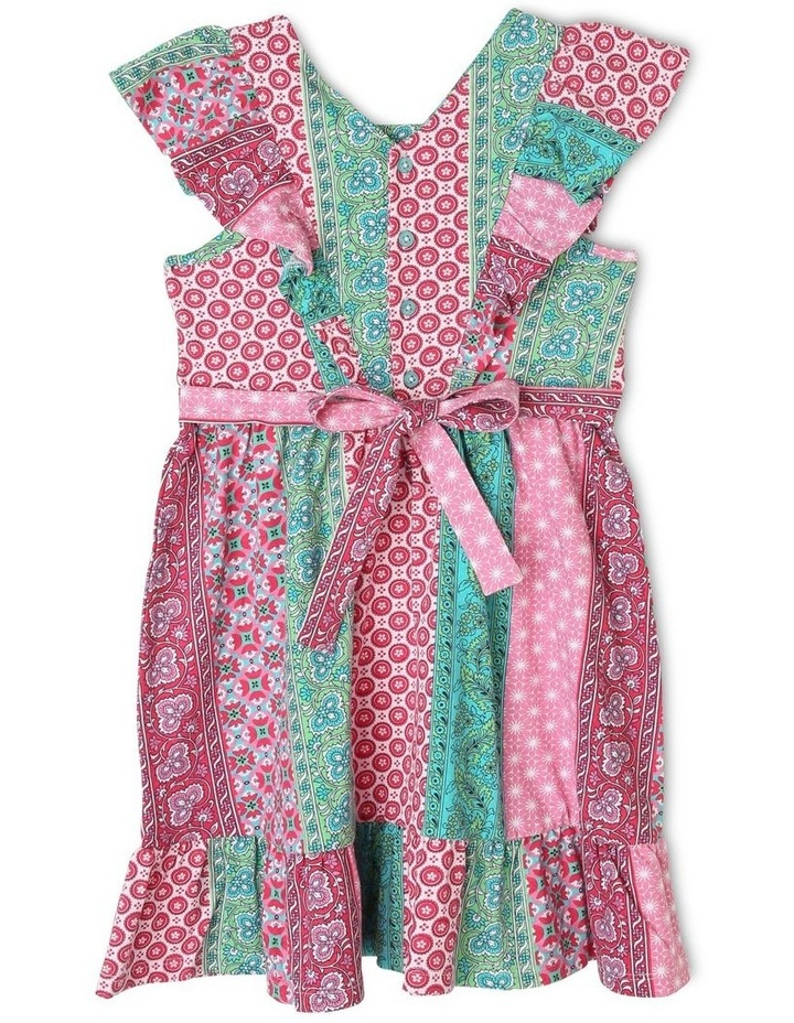 Pinafore Dress with Frill Sleeve image 2