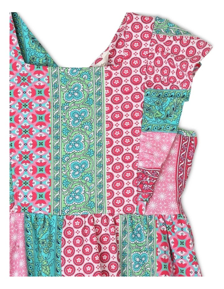 Pinafore Dress with Frill Sleeve image 3