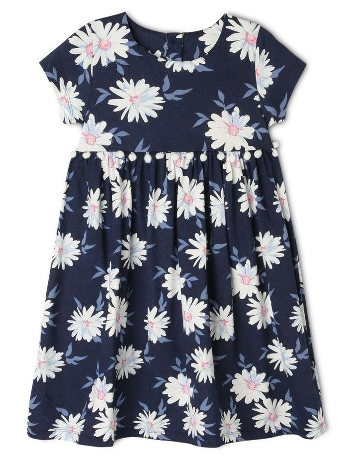 Knit Dress with Pom Pom Waist image 1