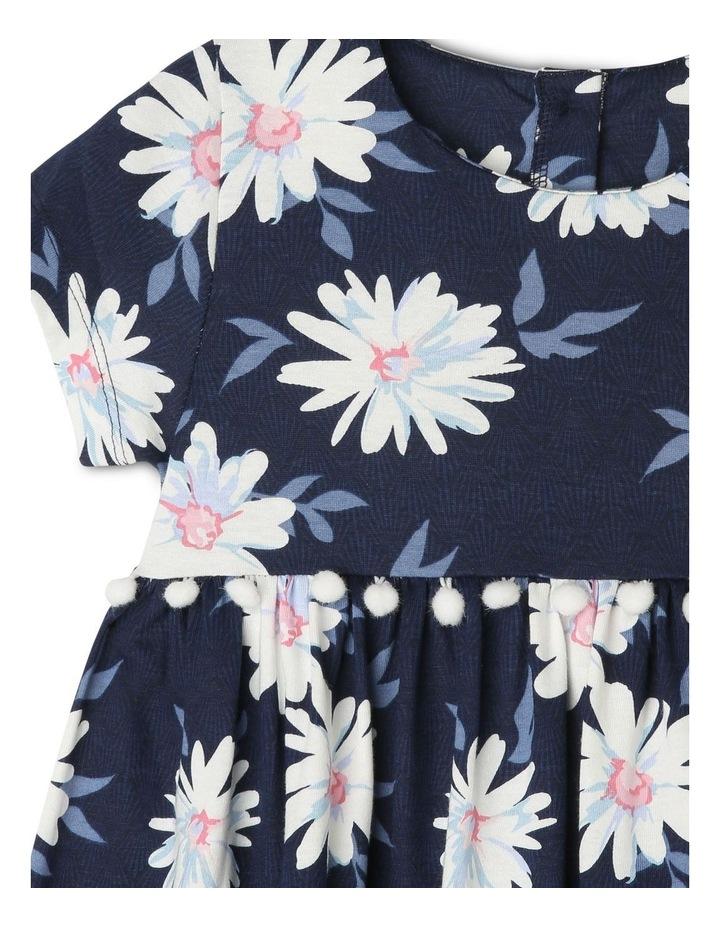 Knit Dress with Pom Pom Waist image 2