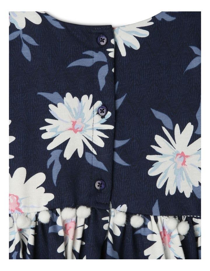 Knit Dress with Pom Pom Waist image 3
