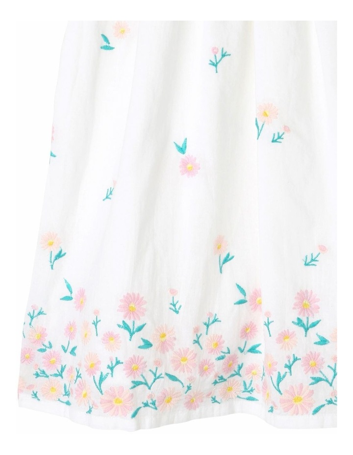 Broderie Sleeve Woven Dress image 3