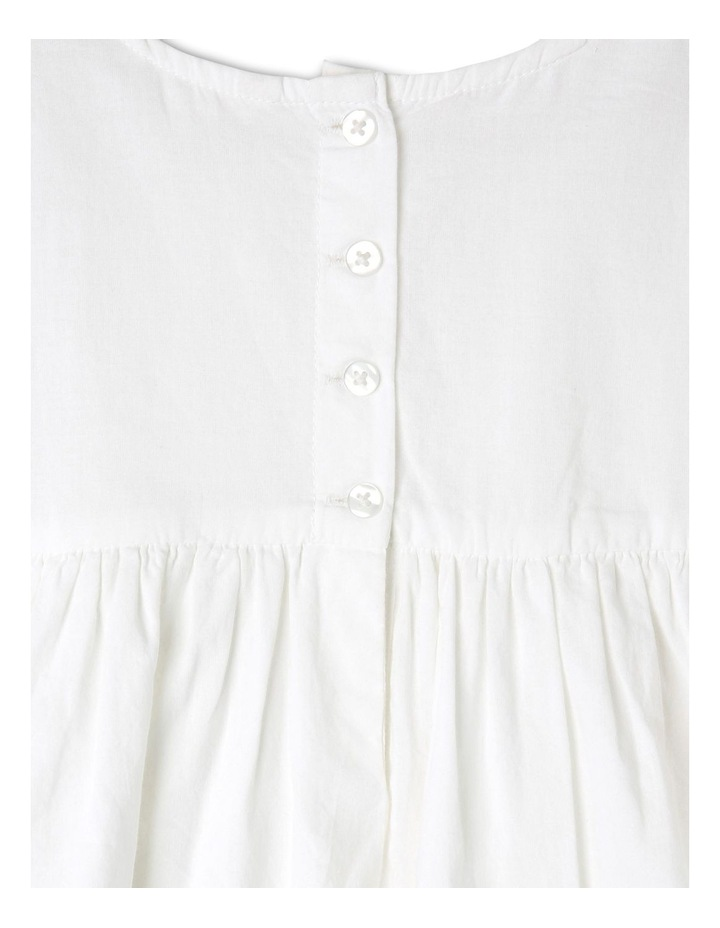 Broderie Sleeve Woven Dress image 4