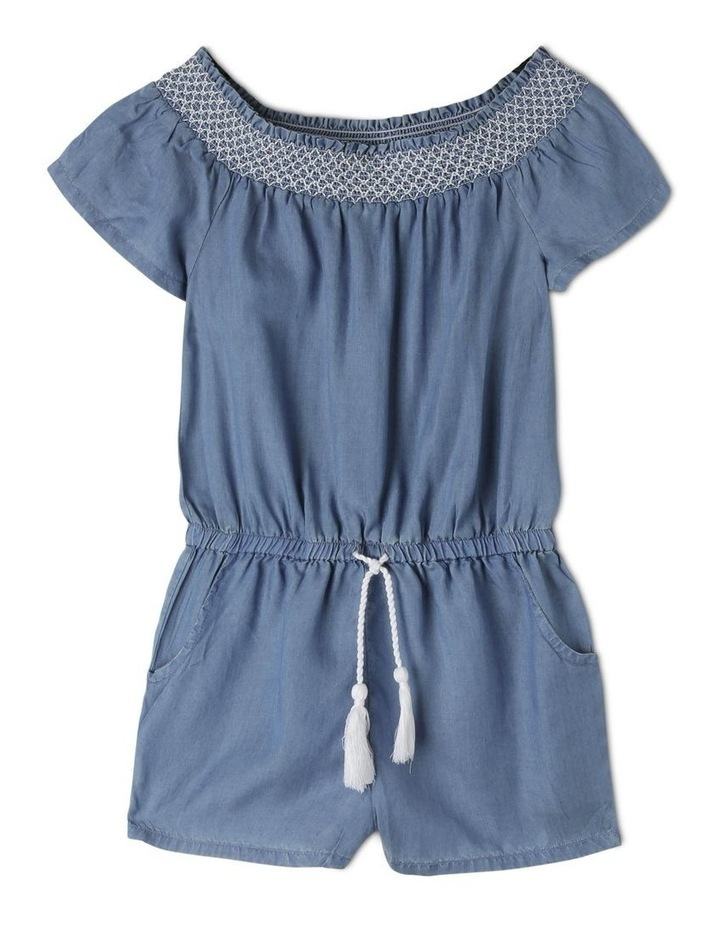 Shirred Front Tencel Playsuit image 1