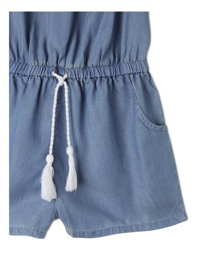 Shirred Front Tencel Playsuit image 3