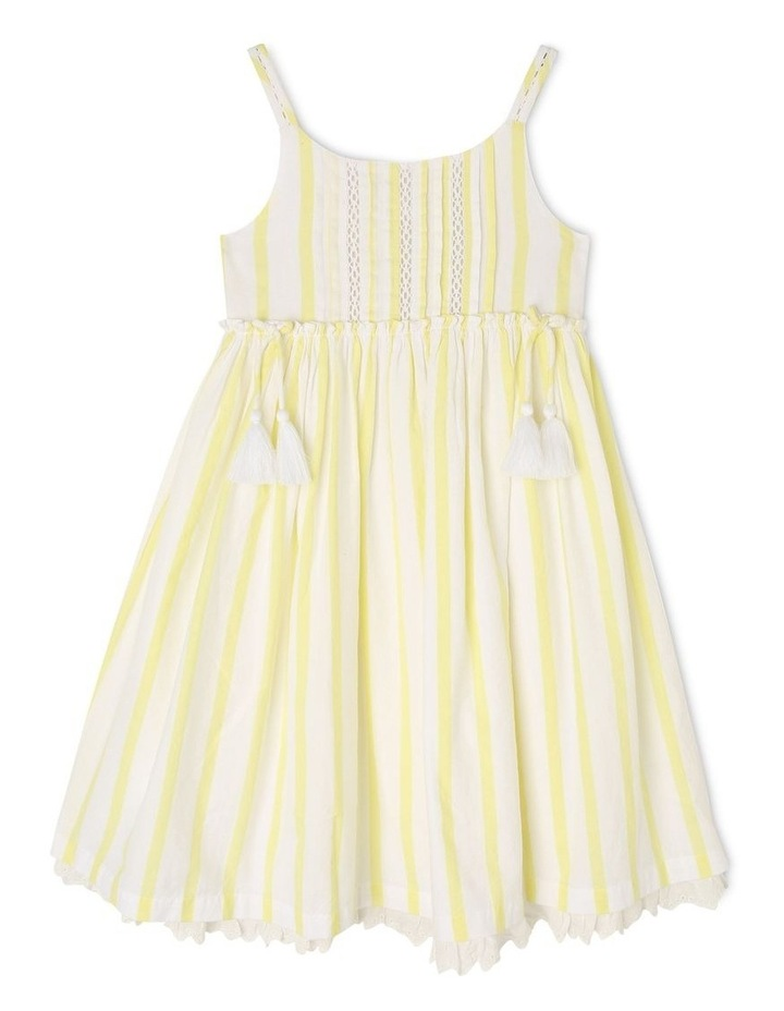 Woven Strappy Dress With Petticoat image 1