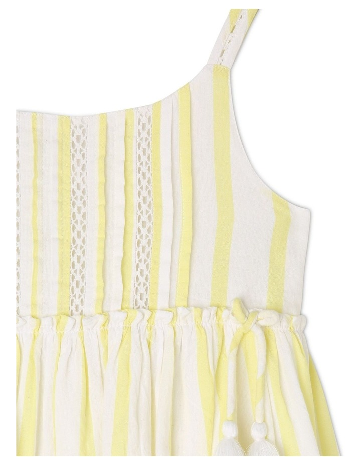 Woven Strappy Dress With Petticoat image 3