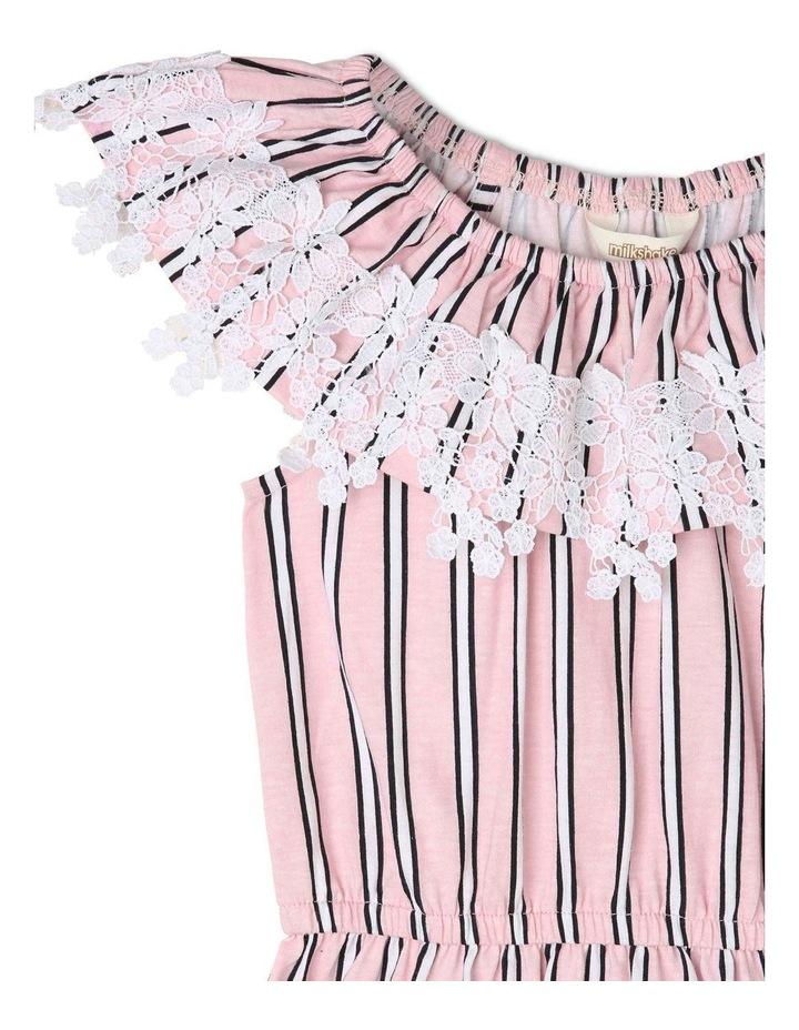 Lace Trim Knit Dress image 2