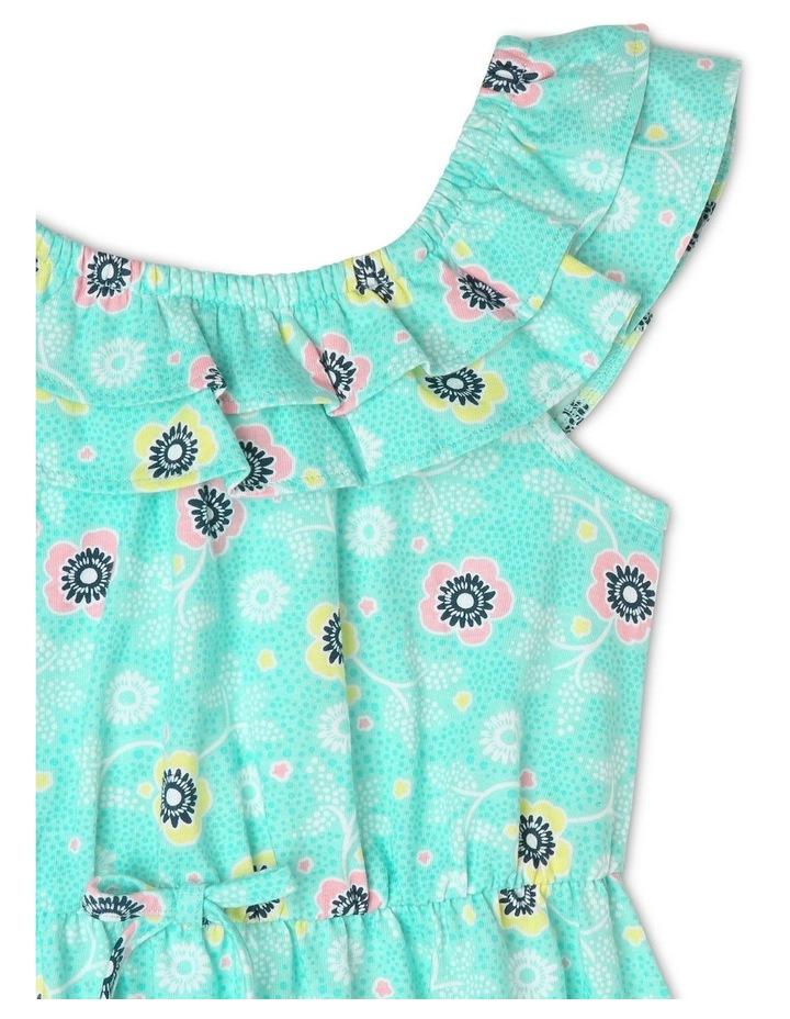 Knit 3/4 Length Skater Dress image 2