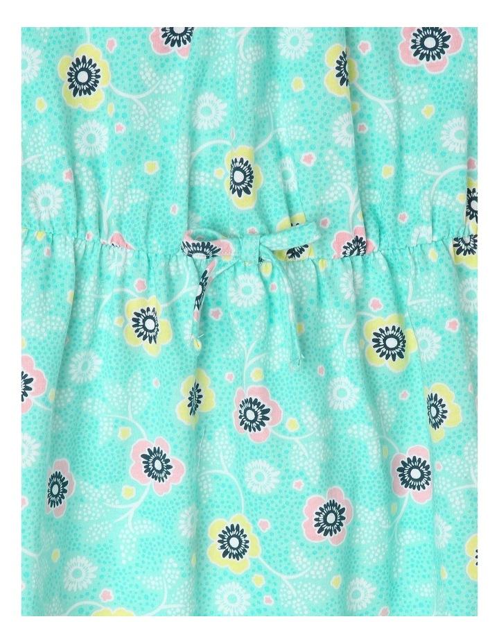 Knit 3/4 Length Skater Dress image 3
