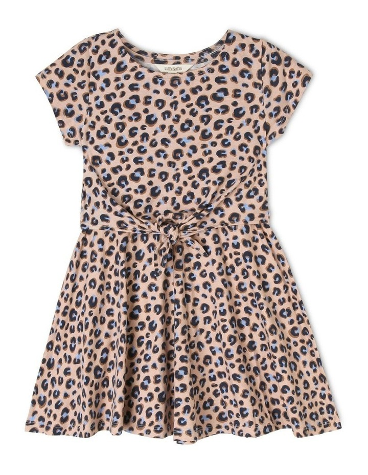 Jersey Tie Front Dress image 1
