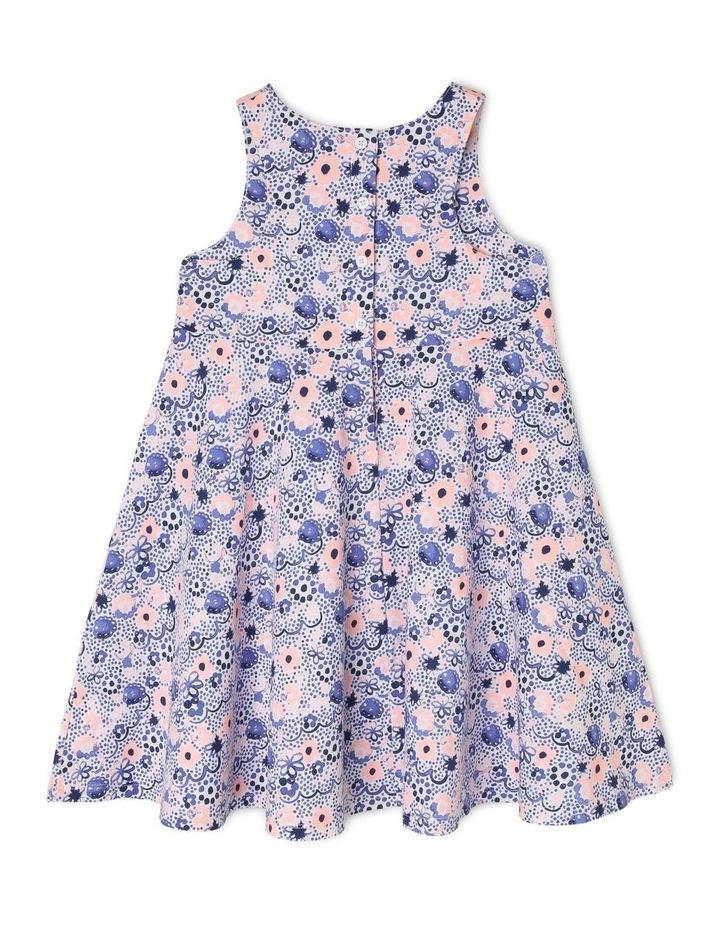 Knit Dress with Circle Skirt image 2
