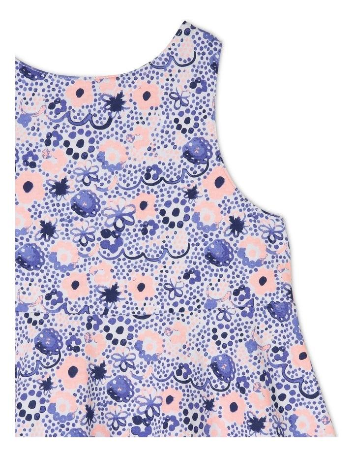 Knit Dress with Circle Skirt image 3