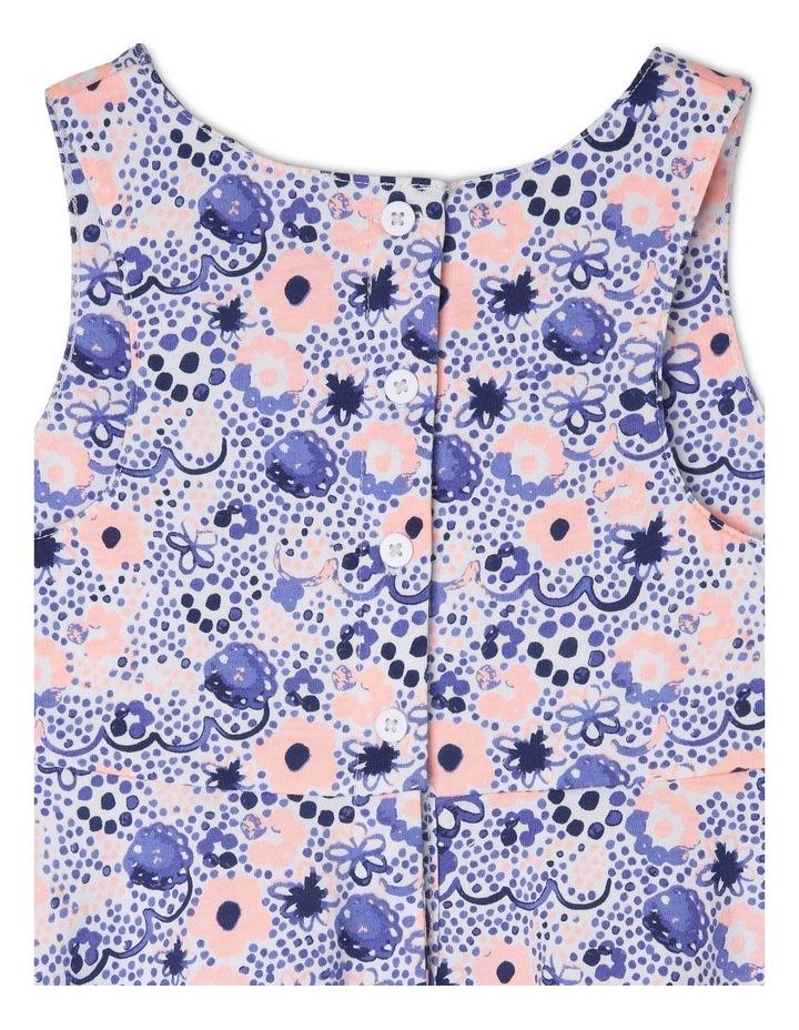 Knit Dress with Circle Skirt image 4