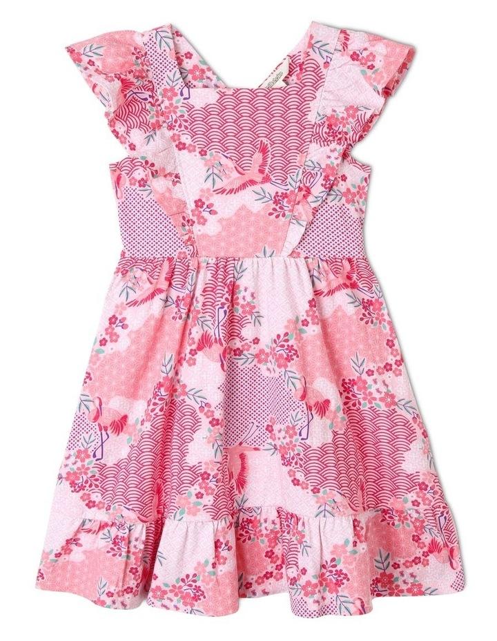 Floral Pinafore Dress image 1