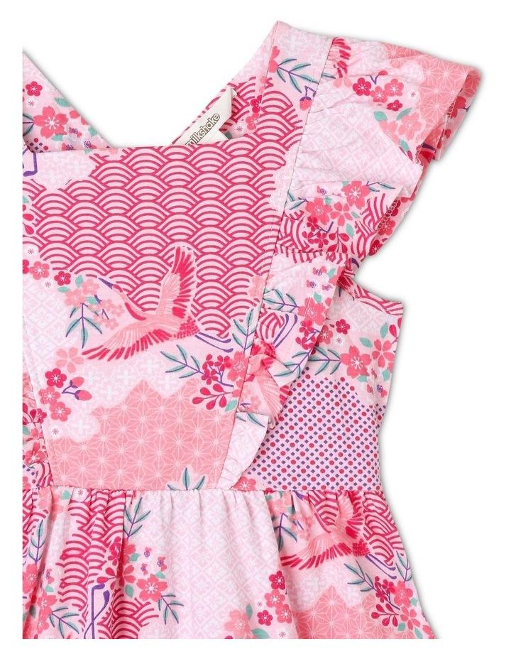 Floral Pinafore Dress image 2