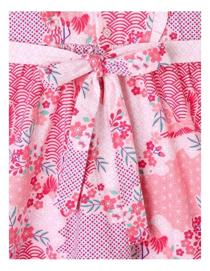 Floral Pinafore Dress image 4