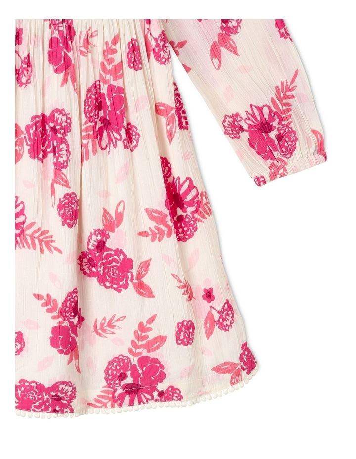 Woven Long Sleeve Dress image 3