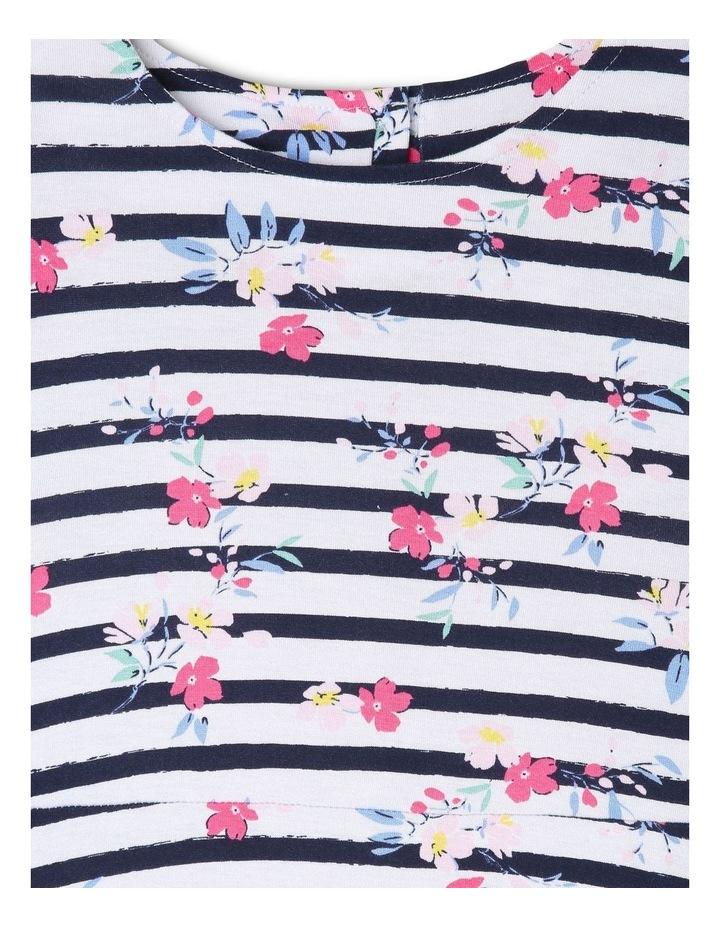 Long Sleeve Knit Skater Dress image 2