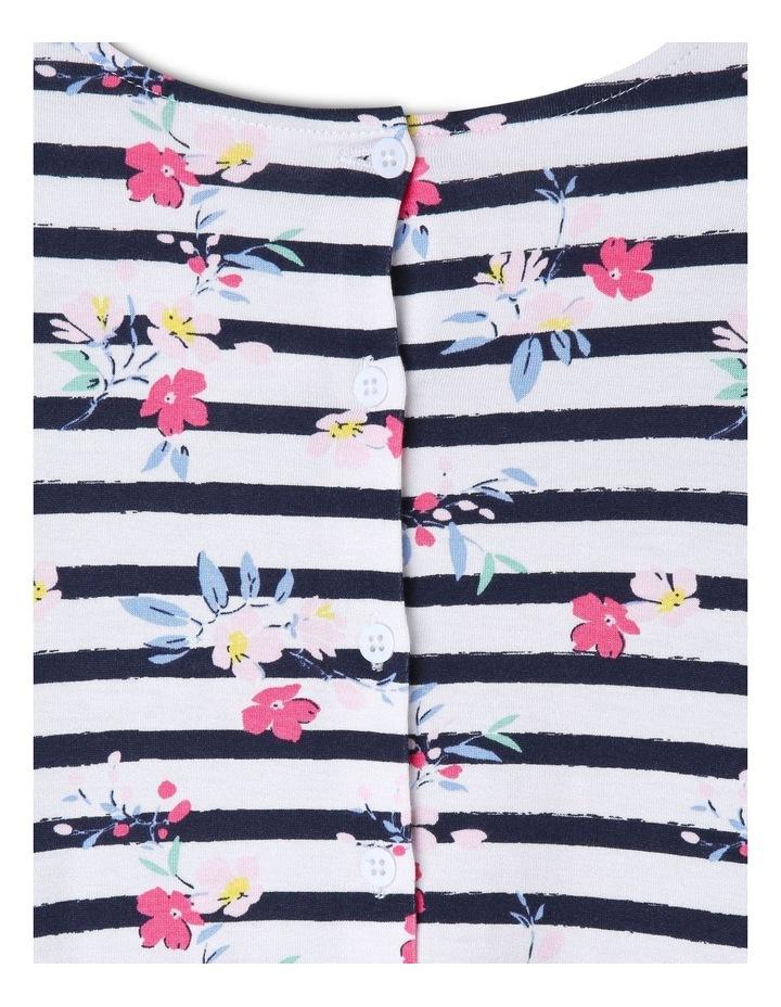 Long Sleeve Knit Skater Dress image 4