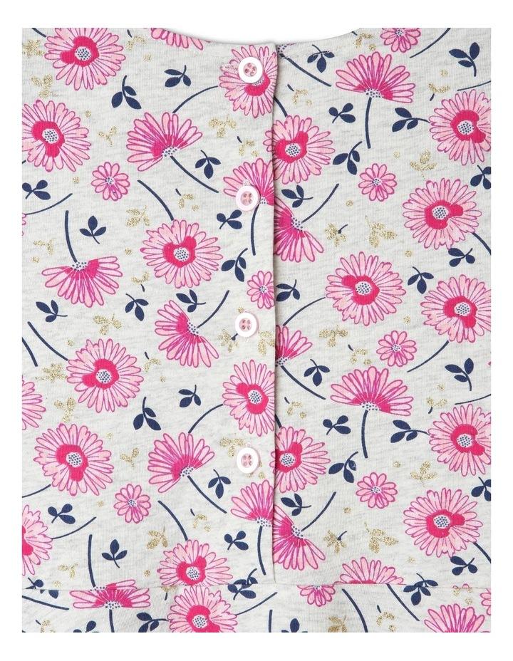 Knit Frill Shoulder Skater Dress image 3