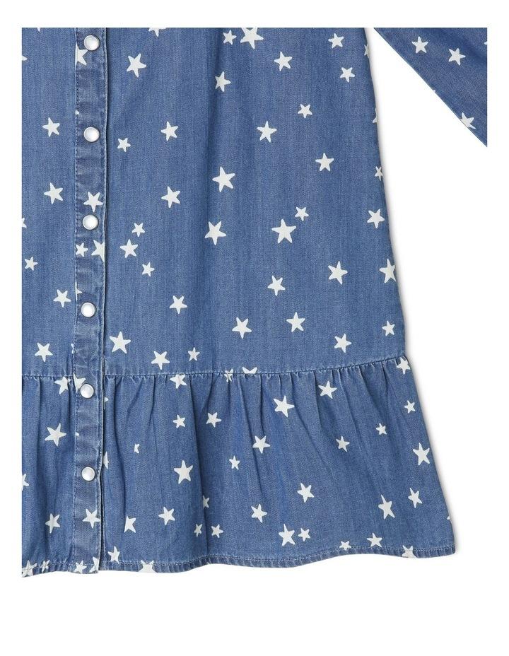 Chambray Frill Dress image 4