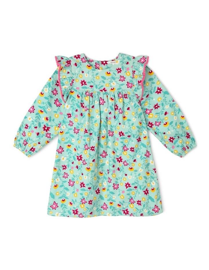 Frill Cord Shirt Dress image 1