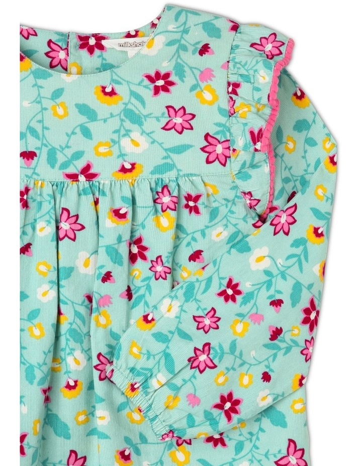 Frill Cord Shirt Dress image 2