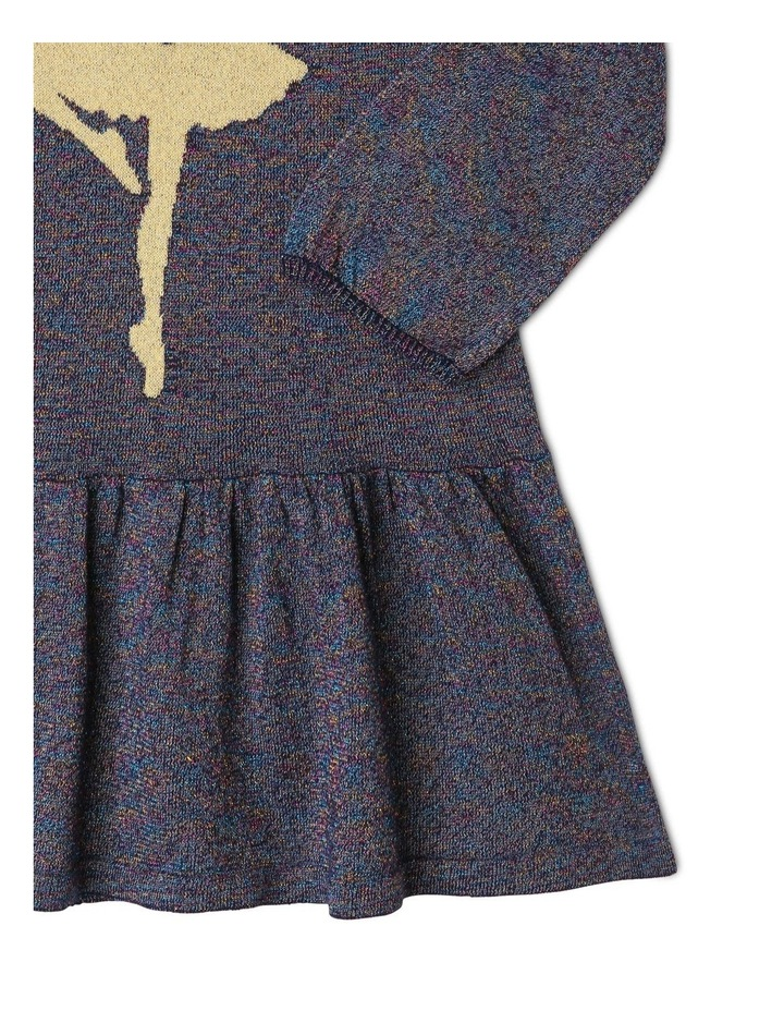 Knitted Long-Sleeve Dress image 3