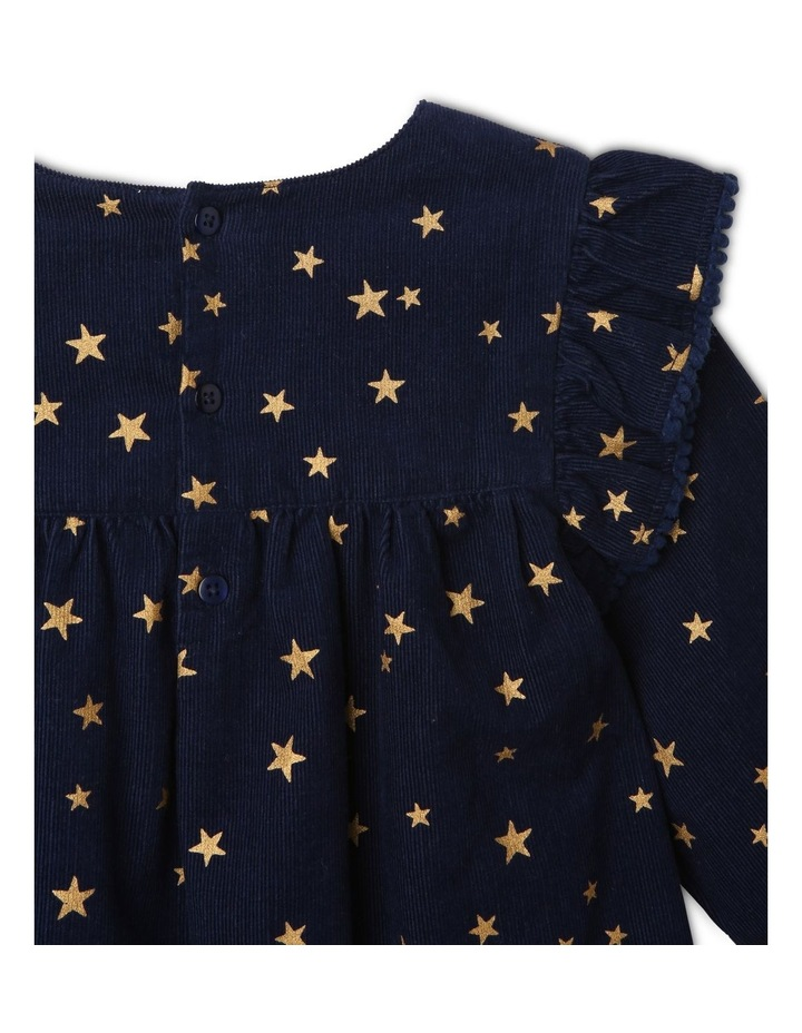 Frill Cord Shirt Dress image 4