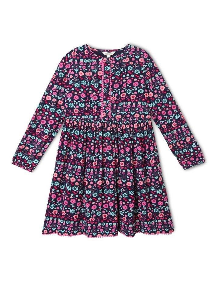 Woven Long-Sleeve Dress image 1
