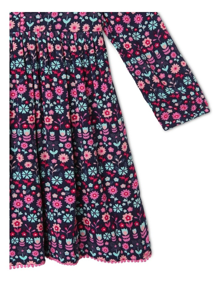 Woven Long-Sleeve Dress image 3