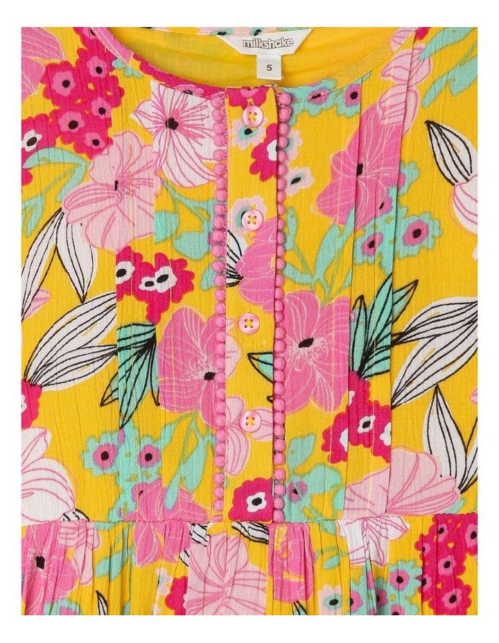 Woven Long Sleeve Dress image 2