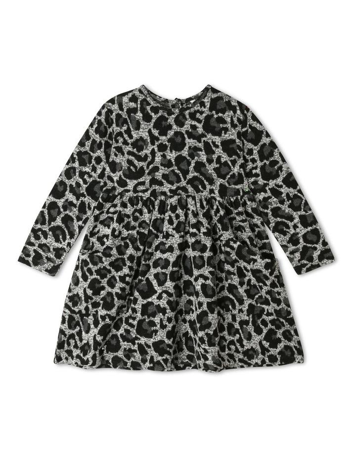 Leopard Print Jacquard Dress image 1
