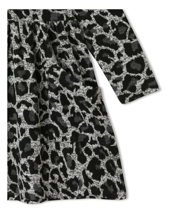 Leopard Print Jacquard Dress image 2