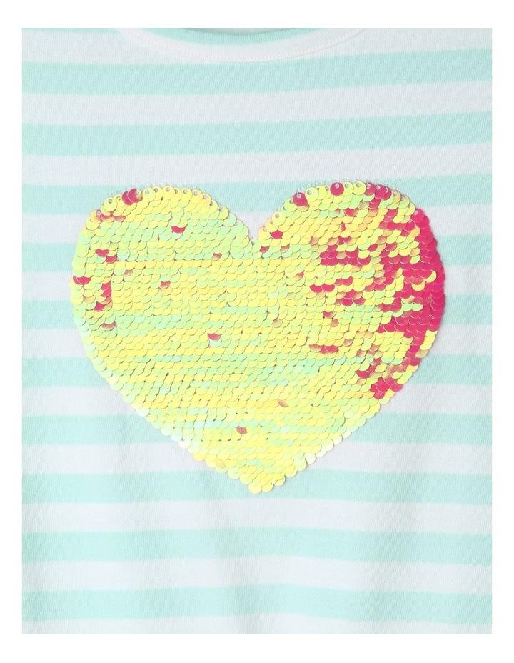 Flutter-Sleeve Stripe Dress image 3