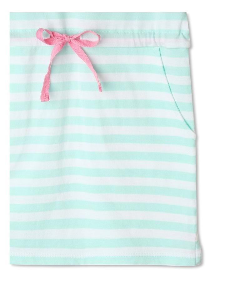 Flutter-Sleeve Stripe Dress image 5