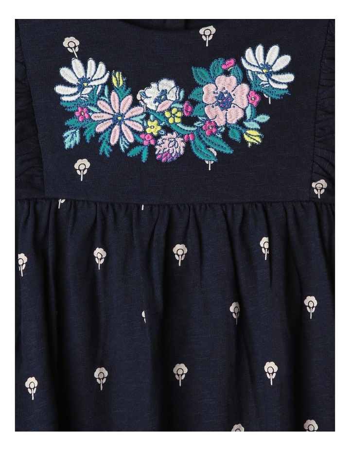 Jersey Dress with Tassels image 3