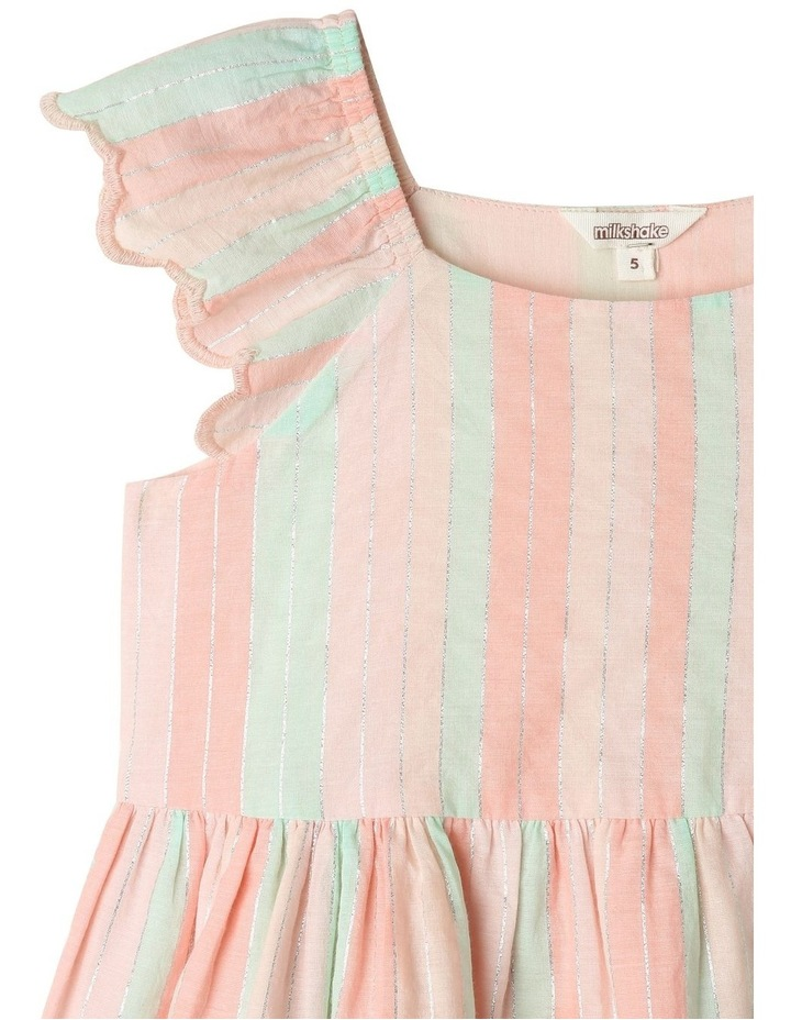 Yarn-Dye Striped Dress With Broderie Anglaise Hem image 2