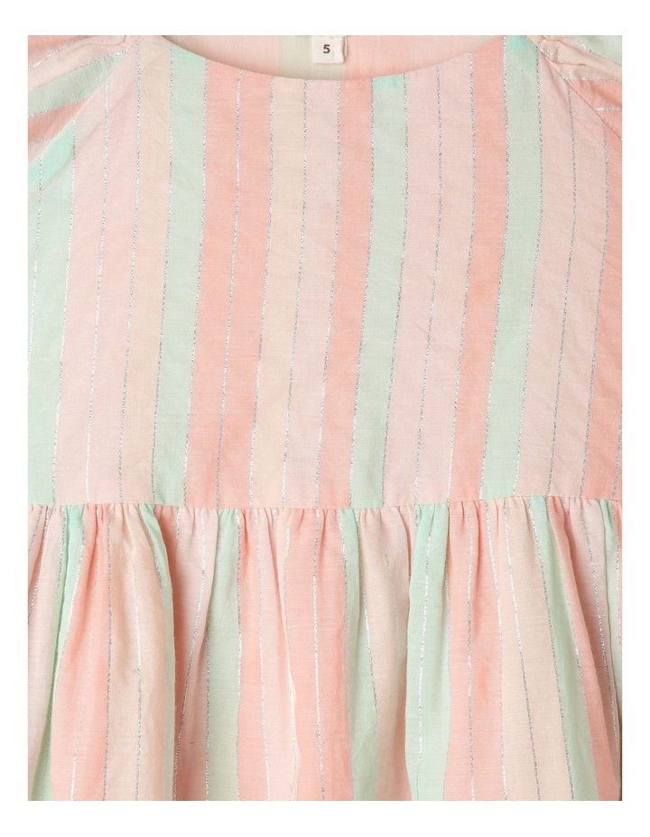 Yarn-Dye Striped Dress With Broderie Anglaise Hem image 3