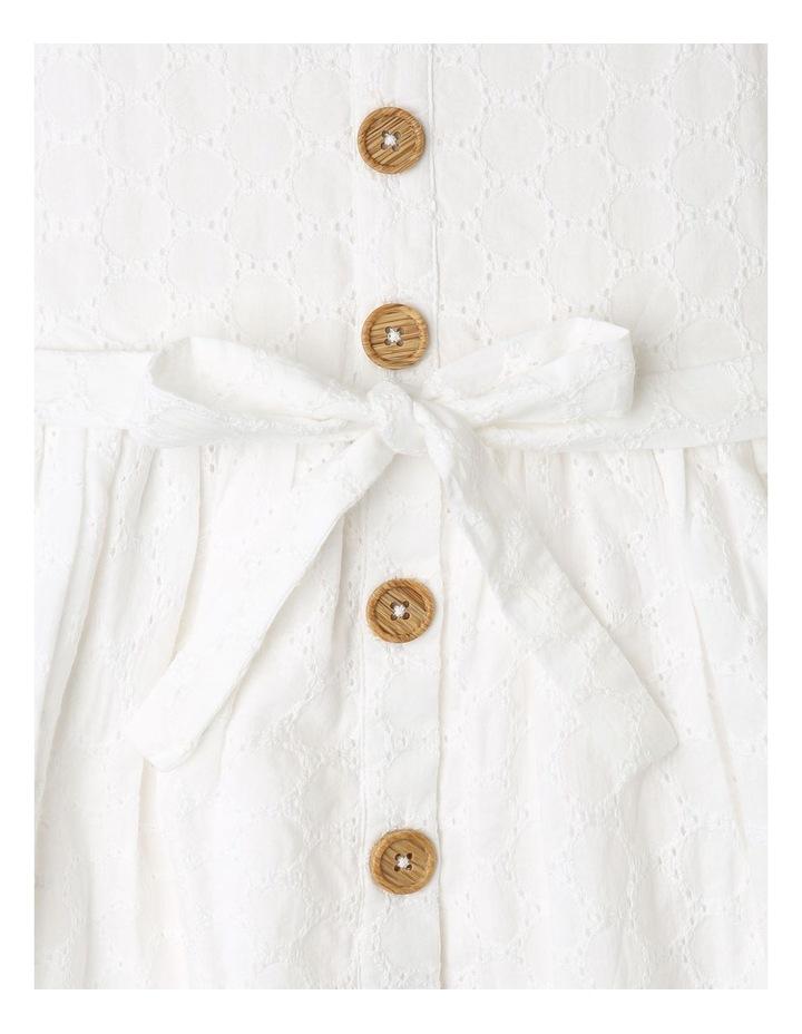 Sleeveless Broderie Dress image 2
