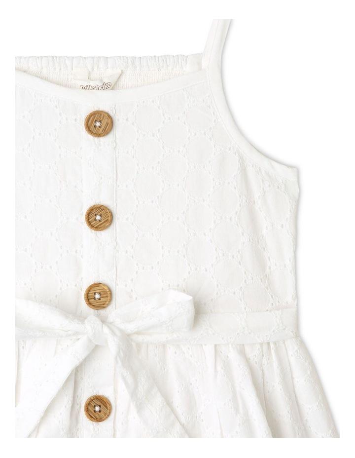 Sleeveless Broderie Dress image 3
