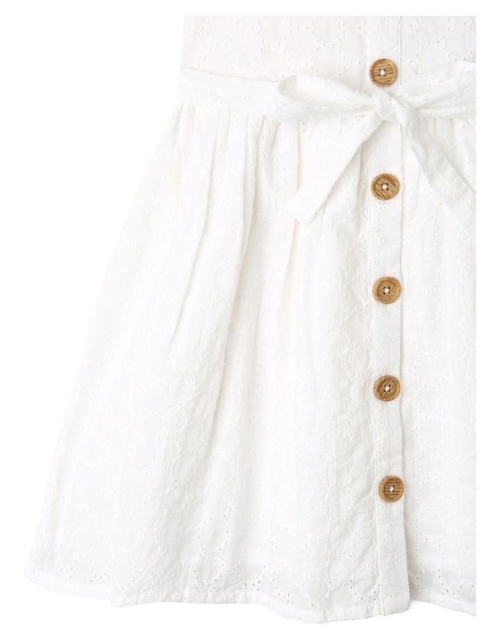 Sleeveless Broderie Dress image 4