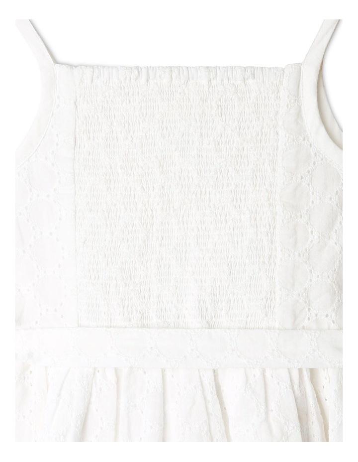 Sleeveless Broderie Dress image 5